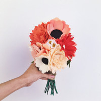 Wildflower Wedding Bouquet- Medium