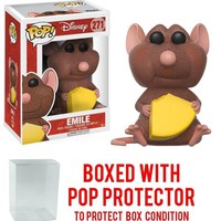 Funko Pop Disney Ratatouille Emile 271 12410 W/Protect case