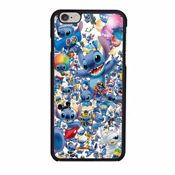 stitch disney collage iphone 6 6s 4 4s 5 5s 6 plus cases