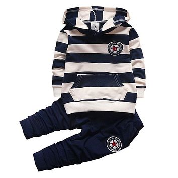 Boys Hoodie with Pants 2 Piece Set