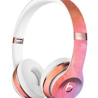 Mixed Pink 32 Absorbed Watercolor Texture Full-Body Skin Kit for the Beats by Dre Solo 3 Wireless Headphones