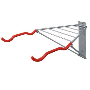 Pablo 2-bike Rack with Shelf | Overstock.com Shopping - The Best Deals on Bike Racks & Storage