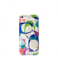 Coach :: Poppy Stamped c Iphone 5 Case