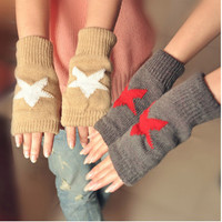Winter Accessories, Mittens, Fleece Lined Gloves. Assorted color options available.