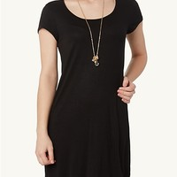 Cap Sleeve Tee Dress