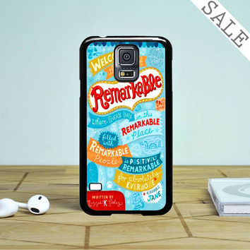 Welcome To The Town Of Remarkable Samsung Galaxy S5 Case