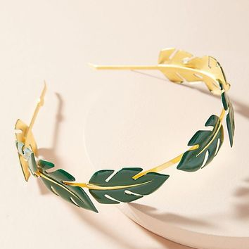 Lagatha Leaf Headband