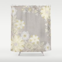 Fresh Beginnings Shower Curtain by Alice Gosling | Society6