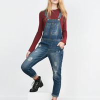 SLOUCHY DUNGAREES New