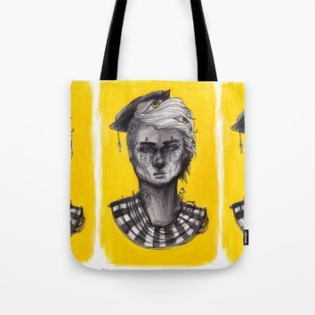 Seen in Yellow Tote Bag by Ben Geiger