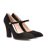 mytheresa.com -  Suede pumps  - Luxury Fashion for Women / Designer clothing, shoes, bags