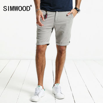 Summer New Shorts Men Slim Fit Cotton High Quality Clothing