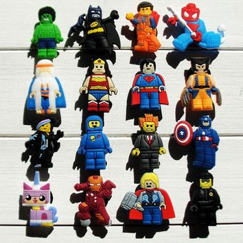 Lego Action Figure Shoe Charms