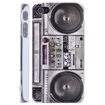 BUS Radio Hard Shell Case for iPhone 4/iPhone 4S