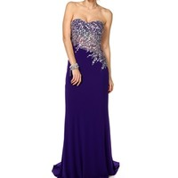 Pre-Order: Eliza- Purple Long Prom Dress