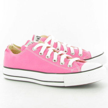 Converse Canvas Allstar Ox Shoes  in Pink