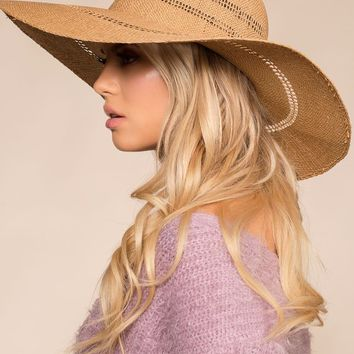 Out Of Town Woven Sun Hat