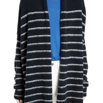 Vince Stripe Wool Blend Cardigan | Nordstrom