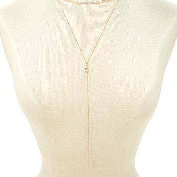 Collar Drop Chain Necklace