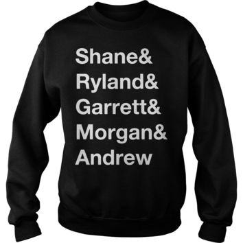 Shane Dawson Squad List shirt Sweat Shirt