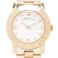 Marc by Marc Jacobs Amy Watch in Metallic Gold
