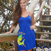 Pink Dolphin fishing Dress