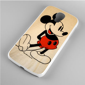 Mickey Mouse Vintage Samsung Galaxy S4 Case