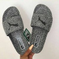 """PUMA"" Trapstar Leadcat Slipper Shoes"