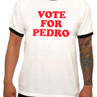 Napoleon Dynamite Vote For Pedro Ringer T-Shirt