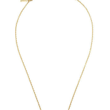 Kate Spade Dainty Sparklers Bar Pendant Clear ONE