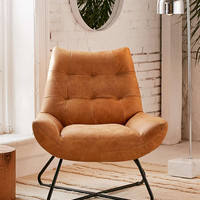 Seymour Leather Chair - Urban Outfitters