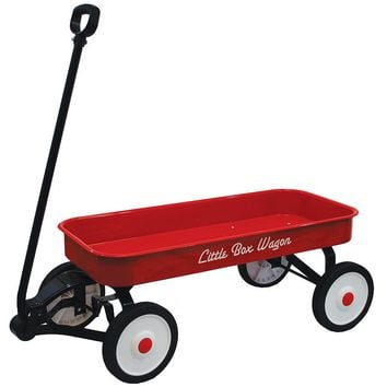 Grand Forward Little Box 34-in. Metal Wagon (Red)
