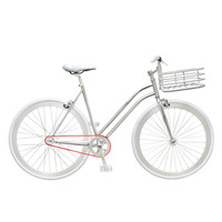 Martone Cycling Co. Women's Regard - White Bike - ShopBAZAAR