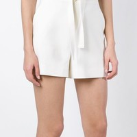 Proenza Schouler Drawstring Sweat Shorts - Stefania Mode - Farfetch.com