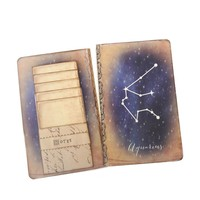 Aquarius Journal - Zodiac Constellation Notebook - Horoscope Diary