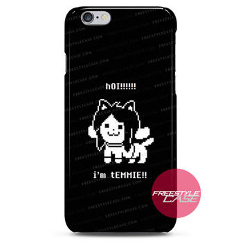 Undertale Temmie  iPhone Case Cover Series