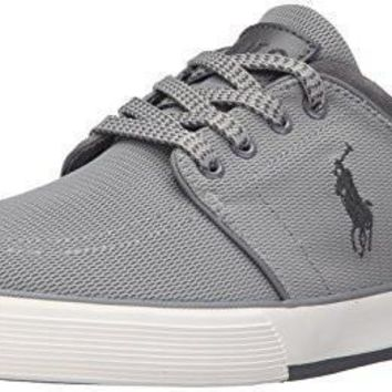 Polo Ralph Lauren Men's Faxon Low Mesh Fashion Sneaker