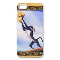 Disney the Lion King iPhone 5 Case Hard Plastic iPhone 5 Back Cover Case