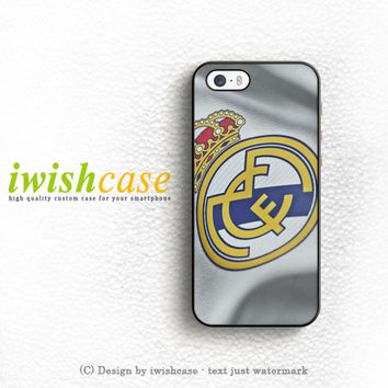 Real Madrid Jersey iPhone 5 5S 5C Case Cover