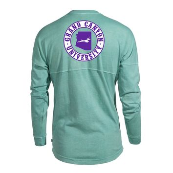 Official NCAA Grand Canyon University Antelopes GCU Thunder Women's Long Sleeve Spirit Wear Jersey T-Shirt