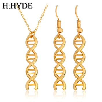 African Jewelry Hollow  Dangle Earrings And Necklace Set