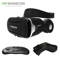 VR Shinecon 4.0 Stereo Virtual Reality Headset  + Headphone/Control Button