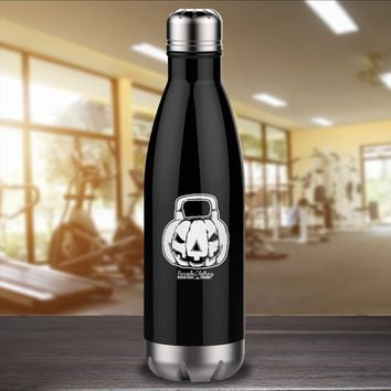 Jack O Kettlebell Laser Etched Water Bottle
