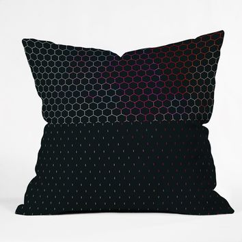 Caleb Troy HoneyComb Arcade Throw Pillow