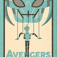 """The Avengers: Quick Silver"" by Andrew Kolb"