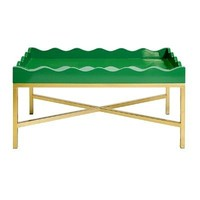Jenna Coffee Table - Emerald Green