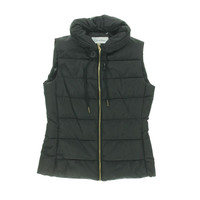 Calvin Klein Womens Lined Quilted Outerwear Vest