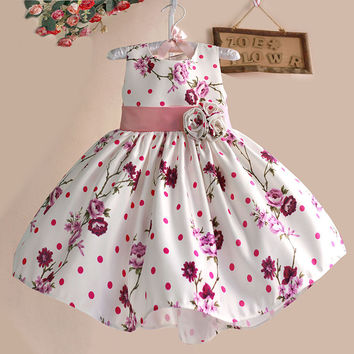 Hetiso Flowers Floral For Girls Summer Dress