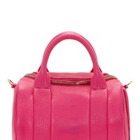 Alexander Wang Flamingo Pink Metallic Leather Rockie Sling Bag