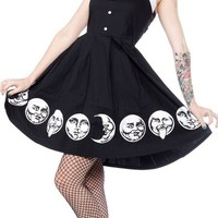 Moon Faces Spooksville Dress | Blame Betty